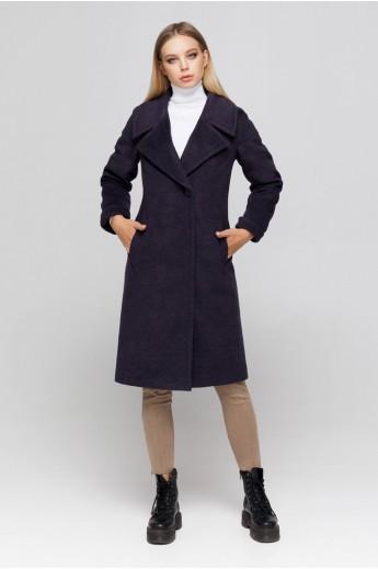 Пальто с манжетами «Ронни» ультрафиолет