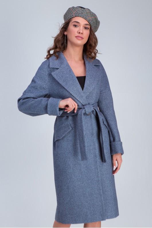 Свободное пальто «Деми» джинс