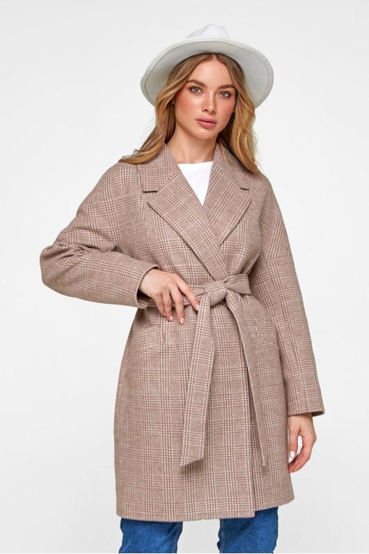 Пальто оверсайз «Астрид» кэмел