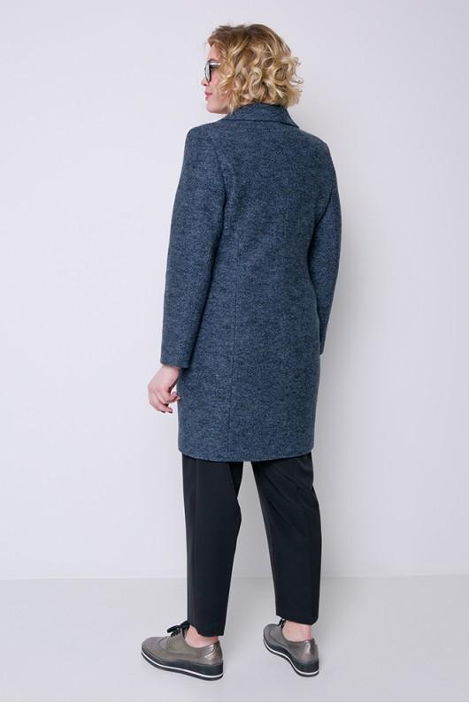 """Демисезонное пальто """"Аида"""" антрацит"""
