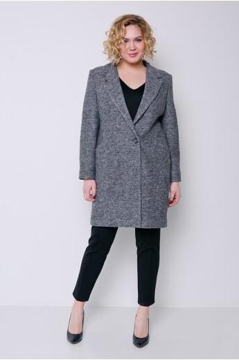 """Демисезонное пальто """"Аида"""" темно-серый"""