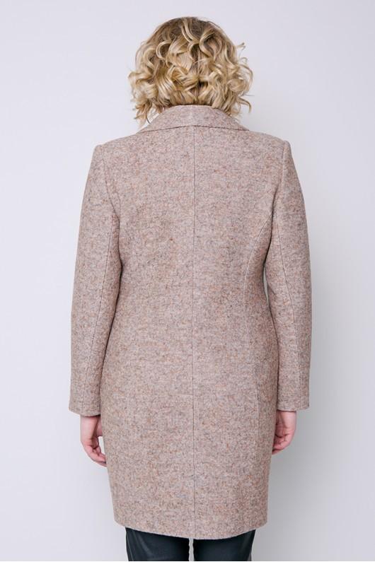 "Демисезонное пальто ""Аида"" бежевое"