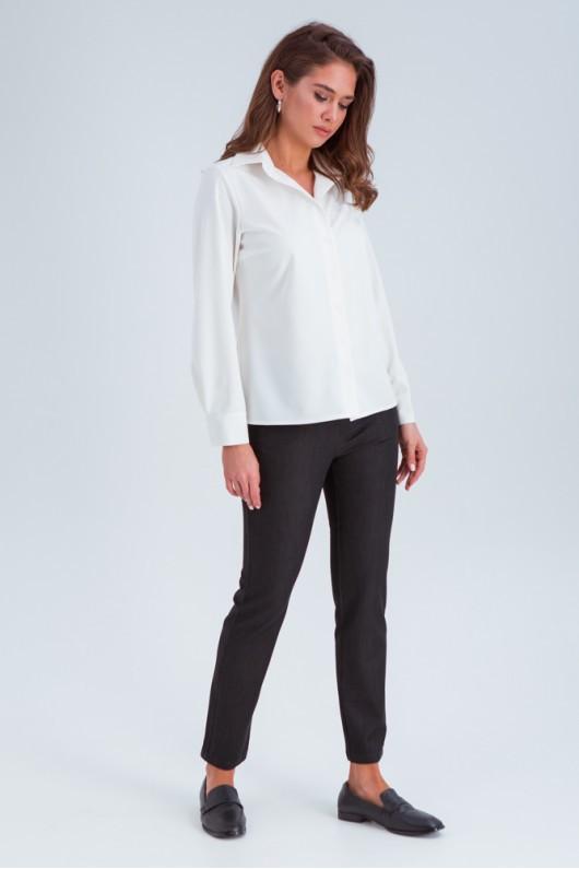 Прямые брюки женские «Альта» черные