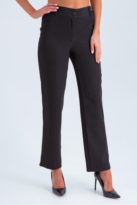 Строгие брюки женские «Эвита» черные