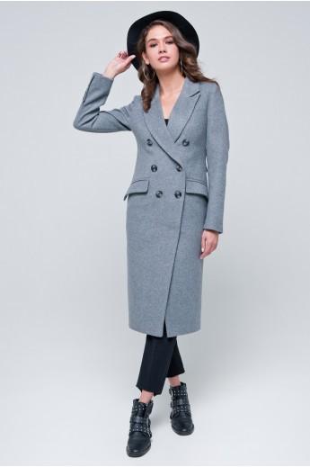 Двубортное пальто «Рене»