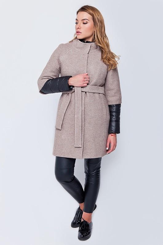 Пальто «Кайли» бежевое