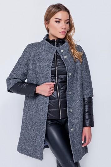 Пальто «Кайли» серое