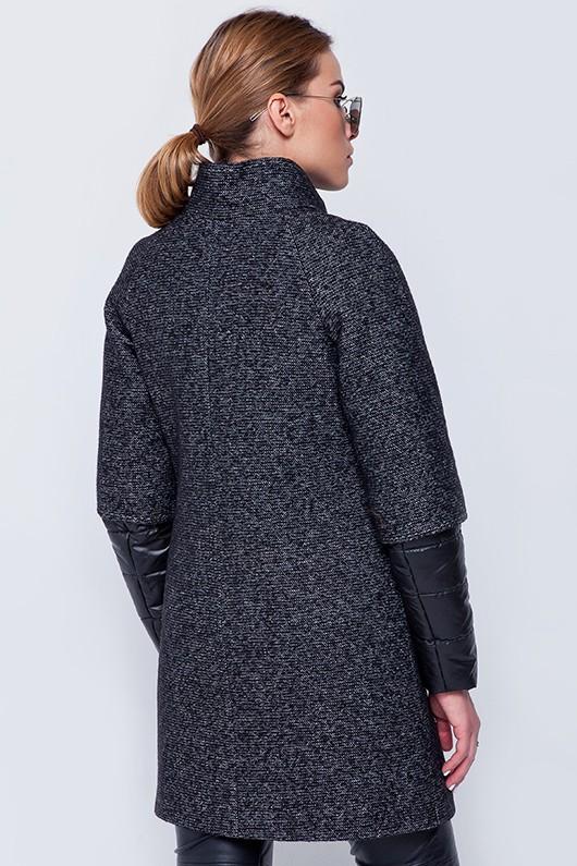 Пальто «Кайли» черное