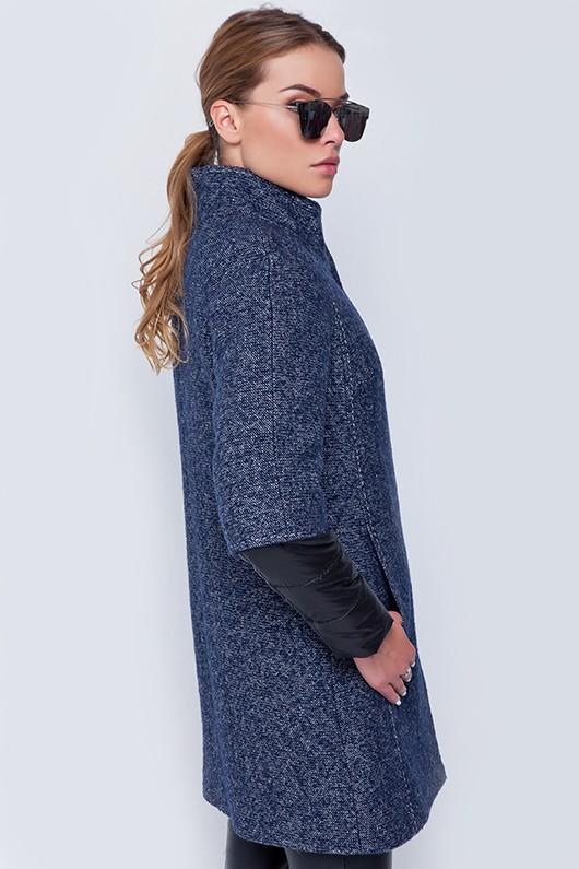 Пальто «Кайли» синее