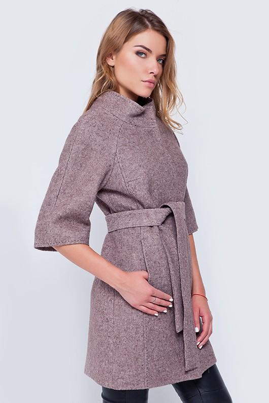 Пальто «Кайли» лиловое