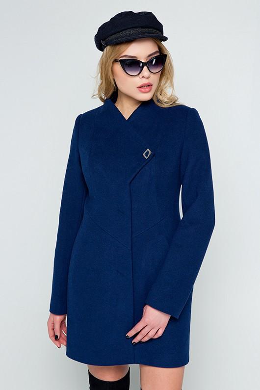 """Демисезонное пальто """"Тереза"""" синее"""